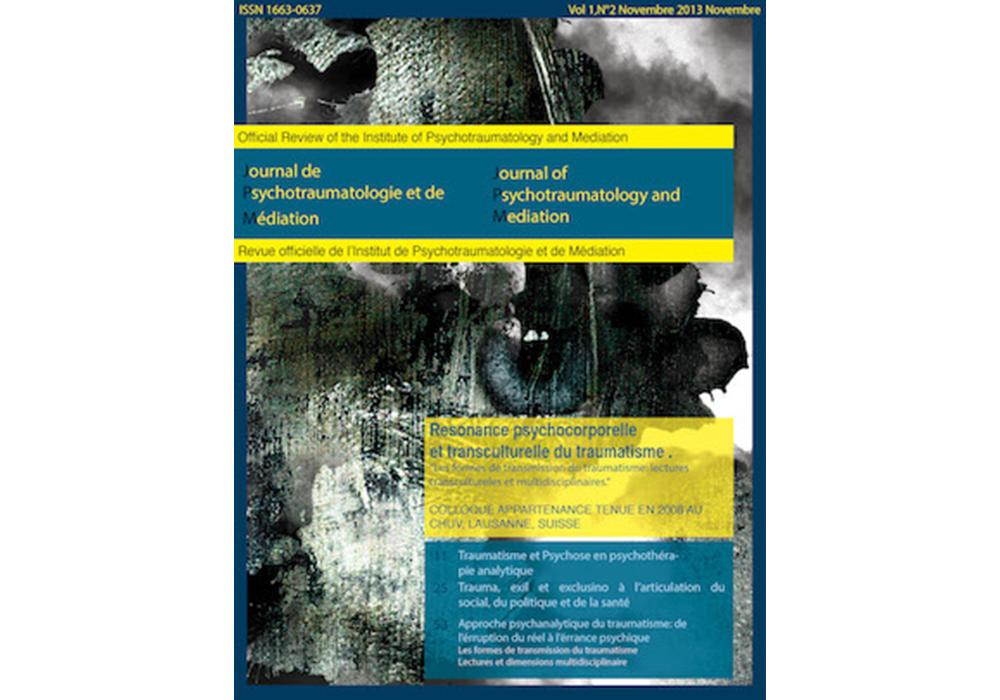 Journal de Psychotraumatologie et Médiation (JPM)